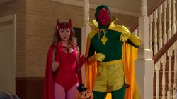 Wanda Maximoff (Earth-199999) and Vision (Construct) (Earth-199999) from WandaVision Season 1 6 001.jpg