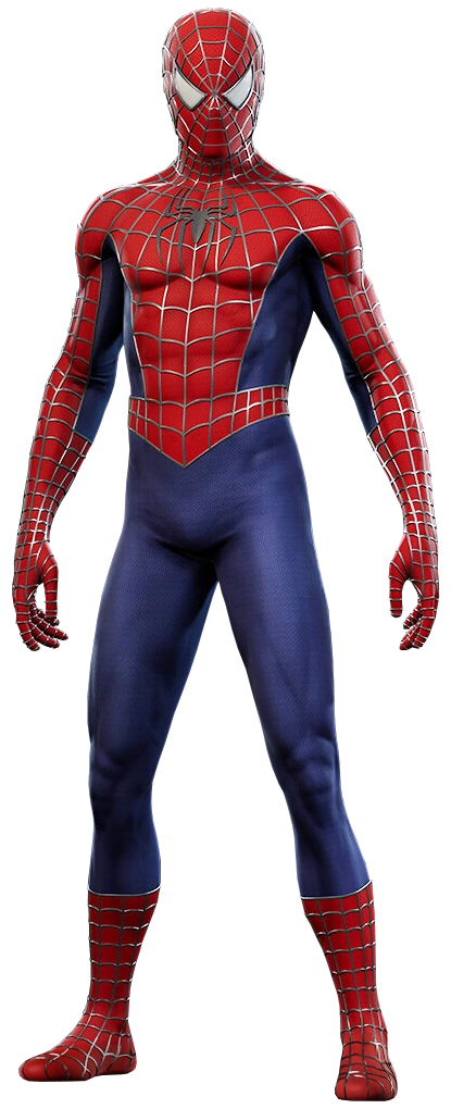 Webbed Suit from Marvel's Spider-Man (video game) 001.png