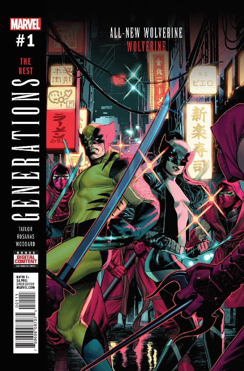 Generations: Wolverine & All-New Wolverine Vol 1 1