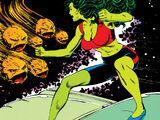 She-Hulk's Flying Car