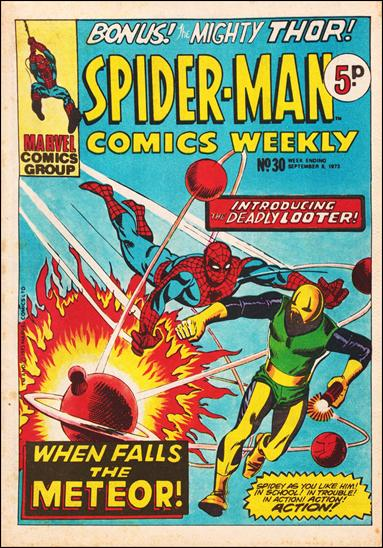 Spider-Man Comics Weekly Vol 1 30