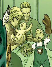 Steven Rogers (Earth-616), Sarah Rogers (Earth-616), and Joseph Rogers (Earth-616) from New Avengers Vol 1 43 001.jpg