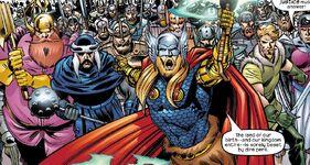 Warriors Three (Earth-982)