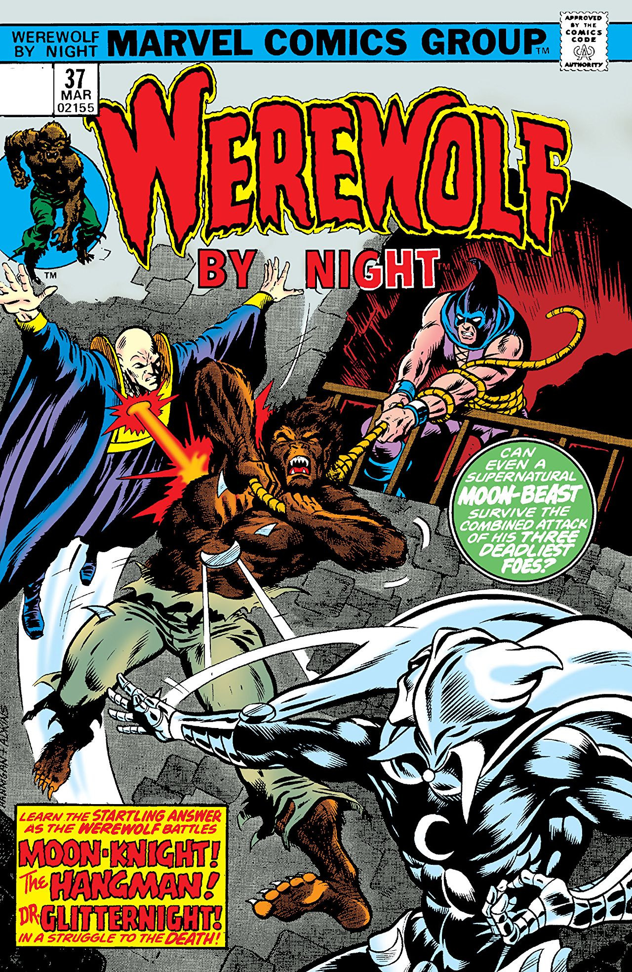 Werewolf by Night Vol 1 37