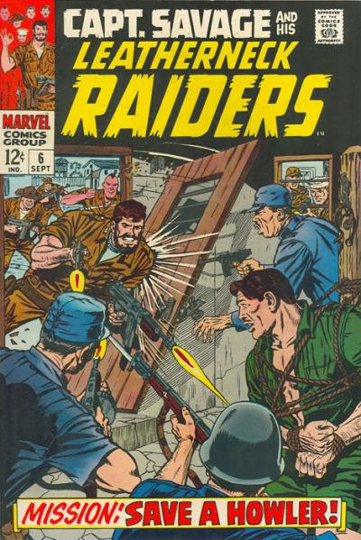 Capt. Savage and his Leatherneck Raiders Vol 1 6