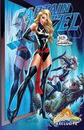 Captain Marvel Vol 10 1 JSC Exclusive Variant B