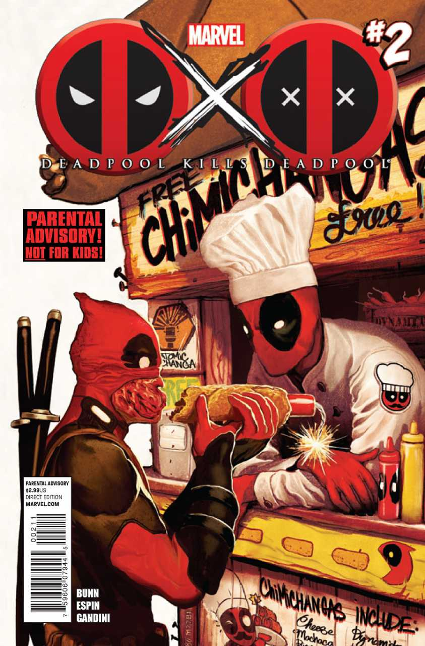 Deadpool Kills Deadpool Vol 1 2