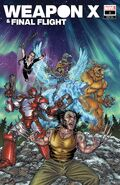 Heroes Reborn Weapon X & Final Flight Vol 1 1 Yardin Variant