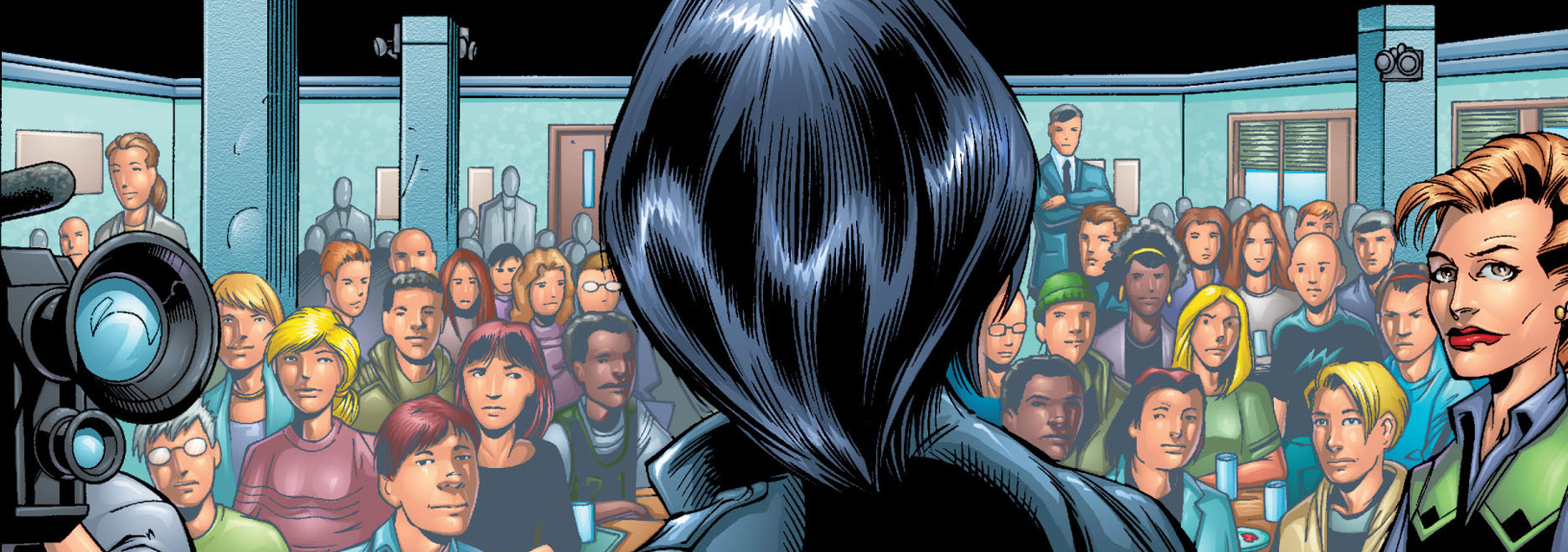 Kraven In Midtown High School Ultimate Spider Man Vol 1 19 2002.png