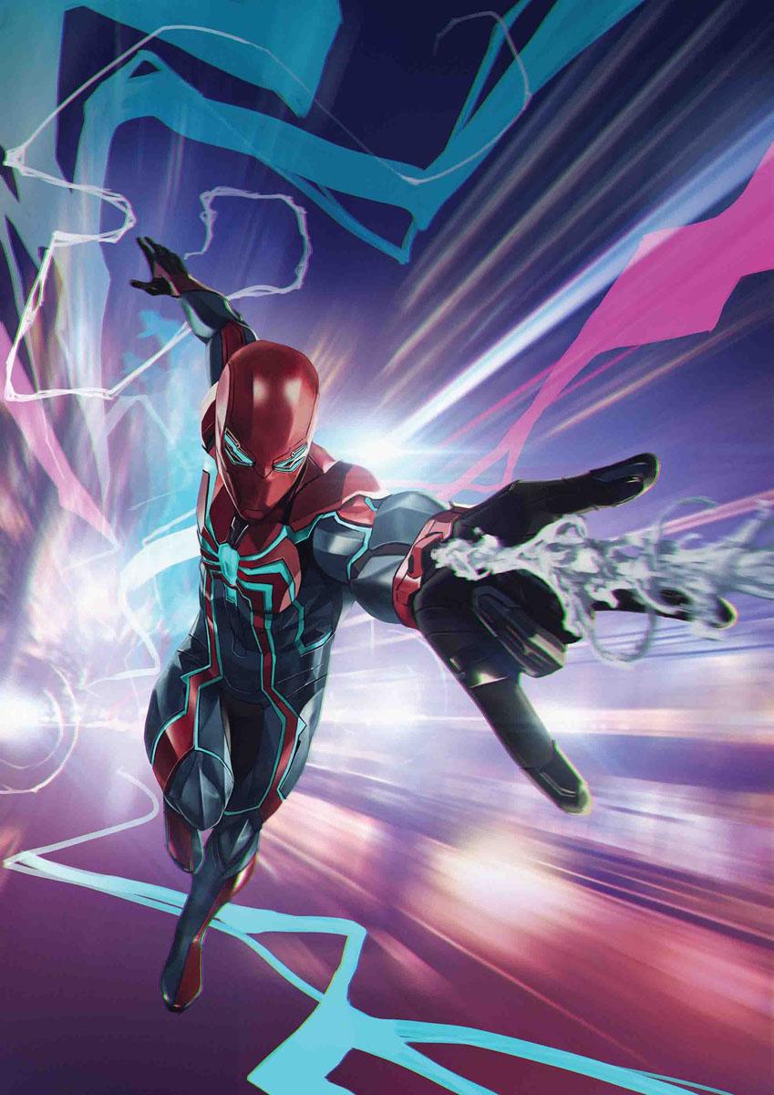 Spider-Man's Velocity Suit