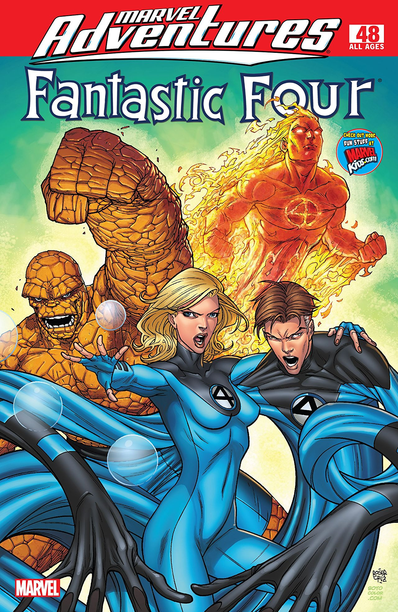 Marvel Adventures: Fantastic Four Vol 1 48