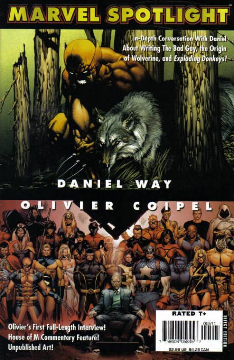 Marvel Spotlight: Daniel Way/Oliver Coipel Vol 1 1