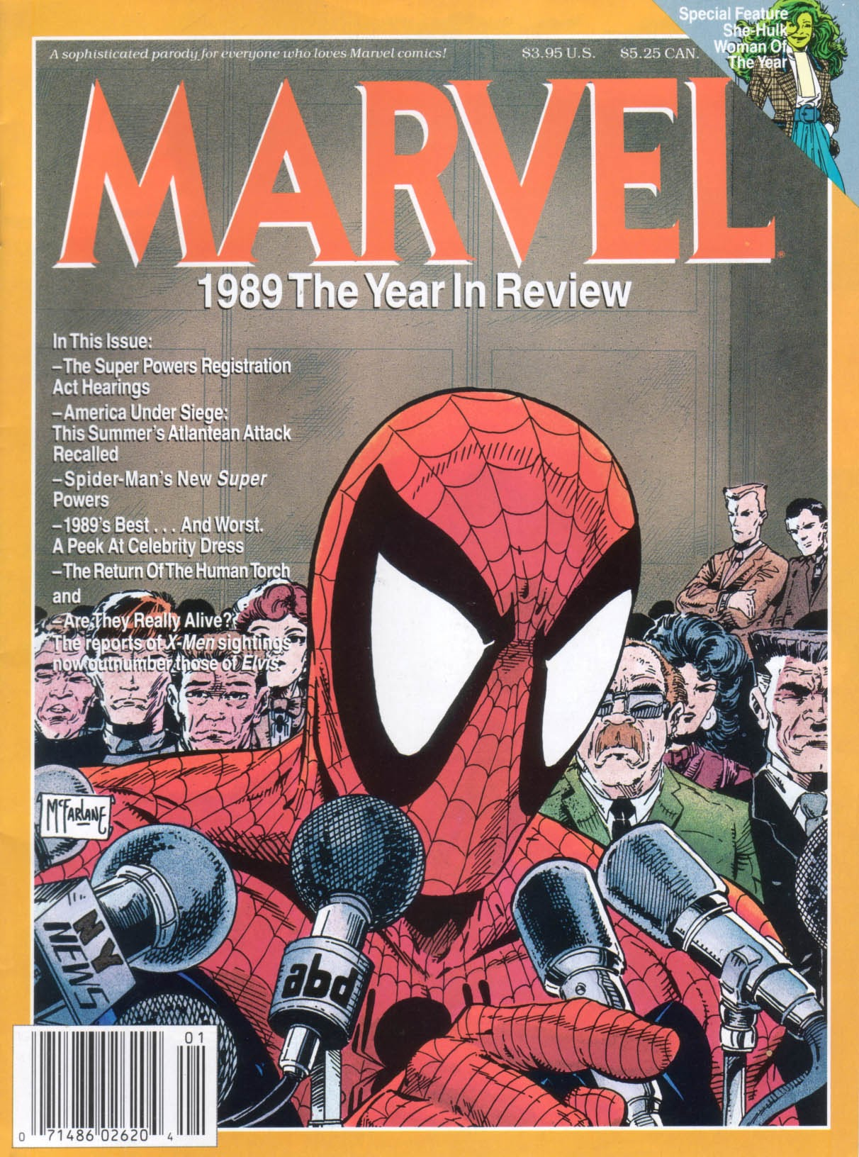 Marvel Year-In-Review Vol 1 1
