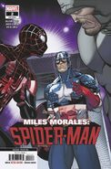 Miles Morales Spider-Man Vol 1 2 Second Printing Variant
