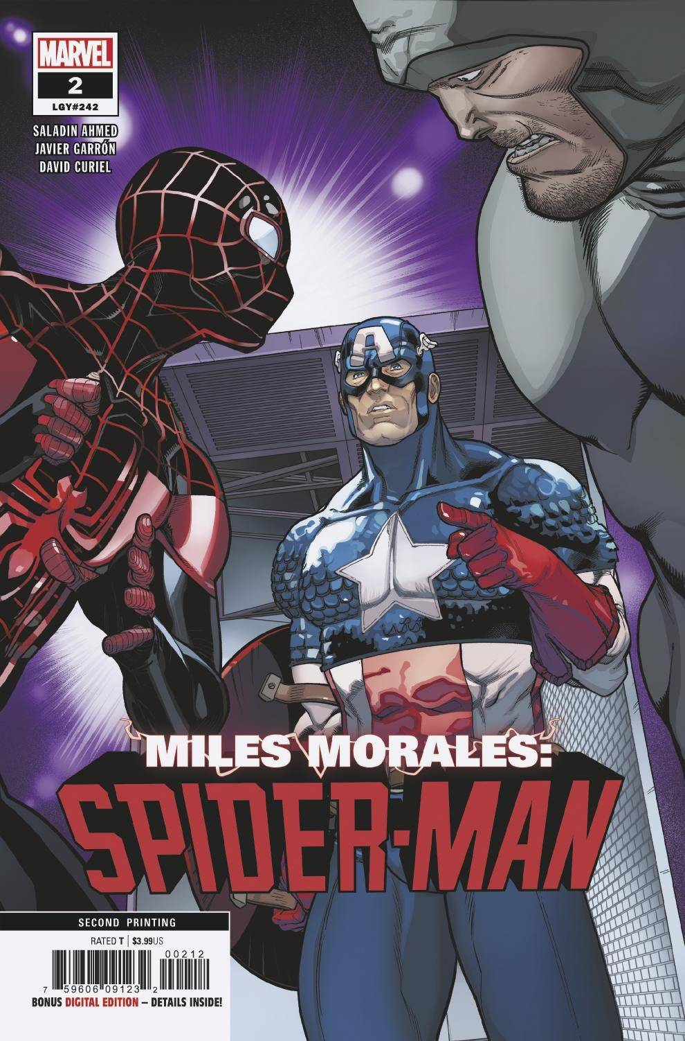 Miles Morales Spider-Man Vol 1 2 Second Printing Variant.jpg
