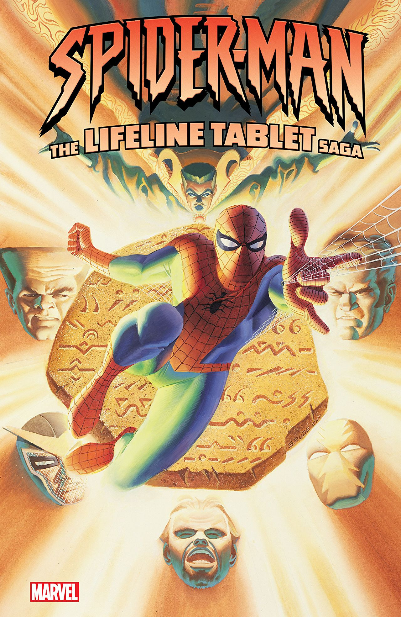 Spider-Man The Lifeline Tablet Saga TPB Vol 1 1.jpg