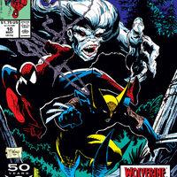 SPIDER-MAN 11 Wendigo Wolverine Todd McFarlane UNREAD