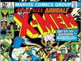 Uncanny X-Men Annual Vol 1 1981
