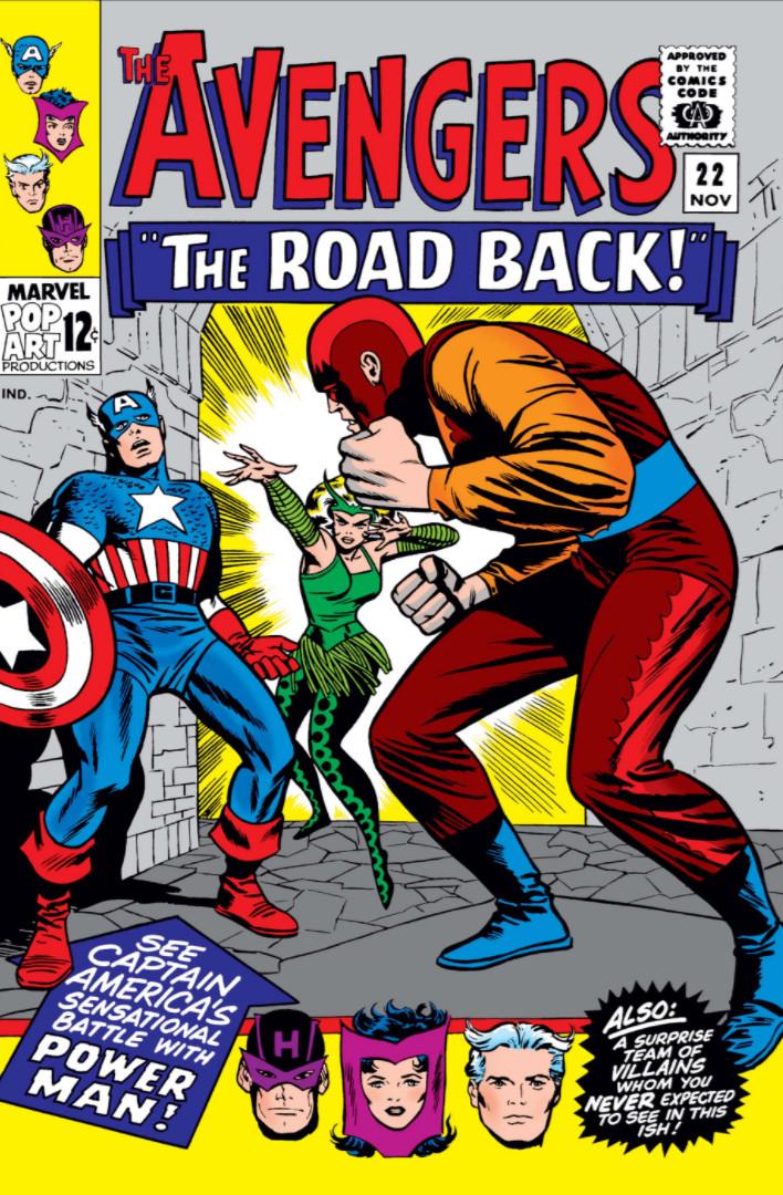 Avengers Vol 1 22