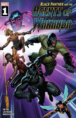 Black Panther and the Agents of Wakanda Vol 1 1.jpg