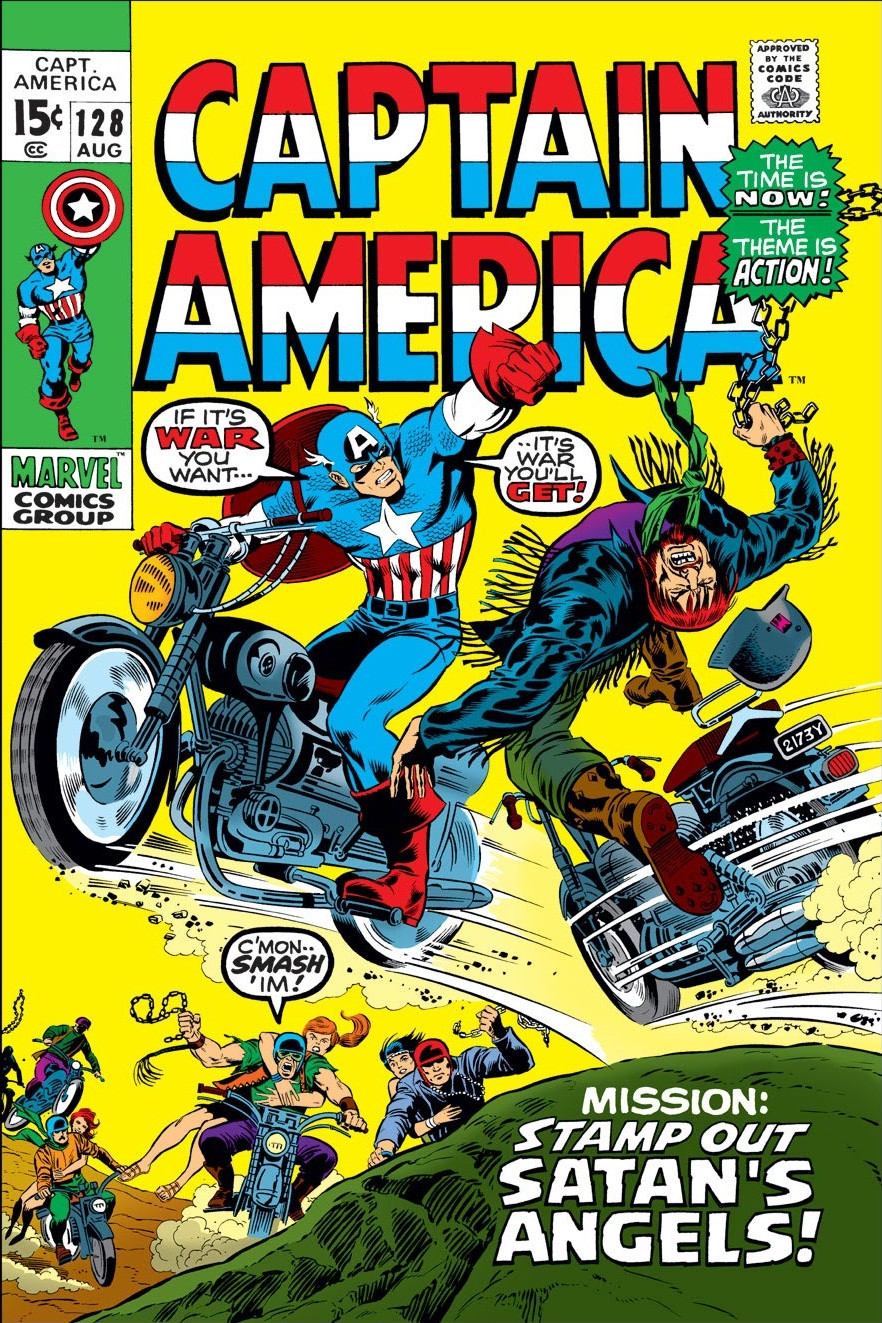 Captain America Vol 1 128