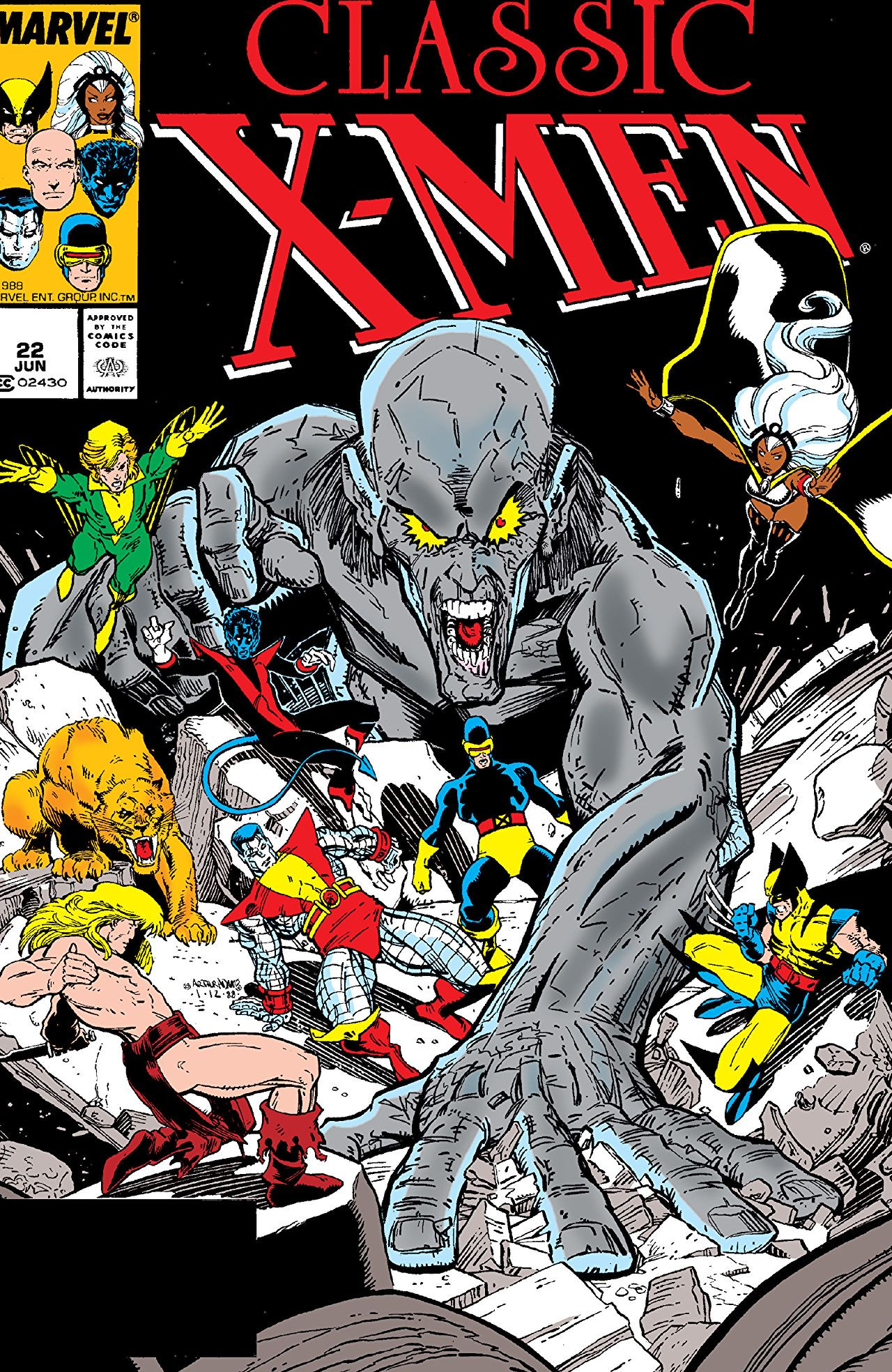 Classic X-Men Vol 1 22
