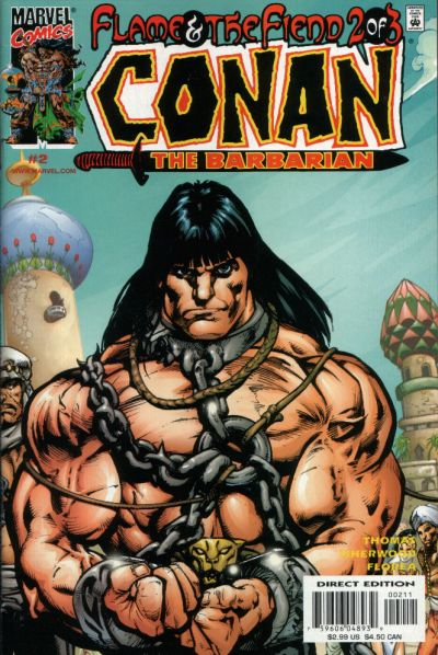Conan: Flame and the Fiend Vol 1 2