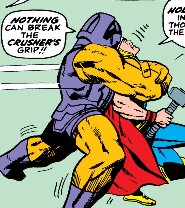 Crusher (Agent of Pluto) (Earth-616)