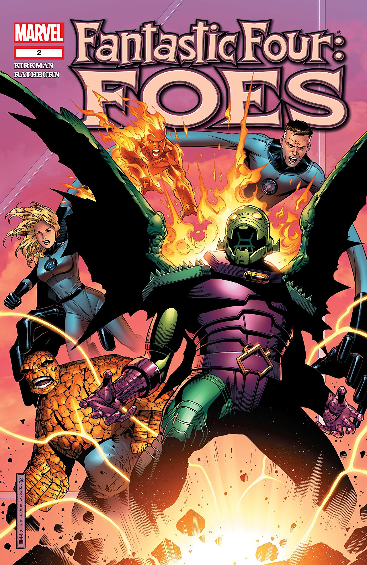 Fantastic Four: Foes Vol 1 2