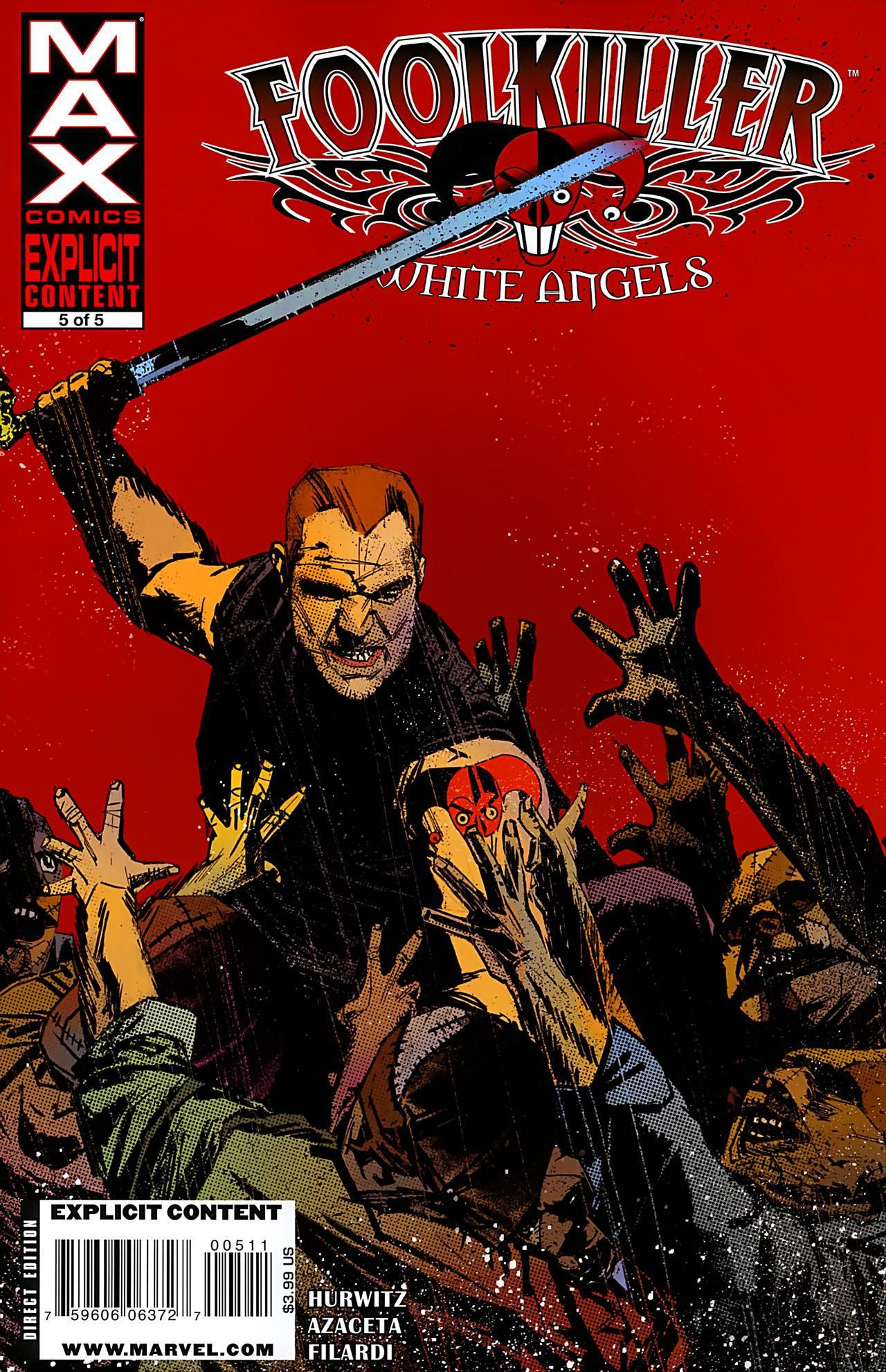 Foolkiller: White Angels Vol 1 5