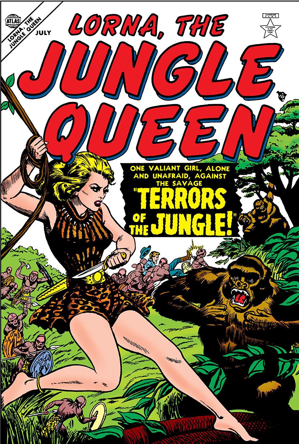 Lorna the Jungle Queen Vol 1 1