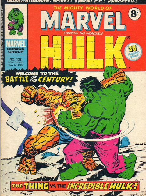 Mighty World of Marvel Vol 1 138