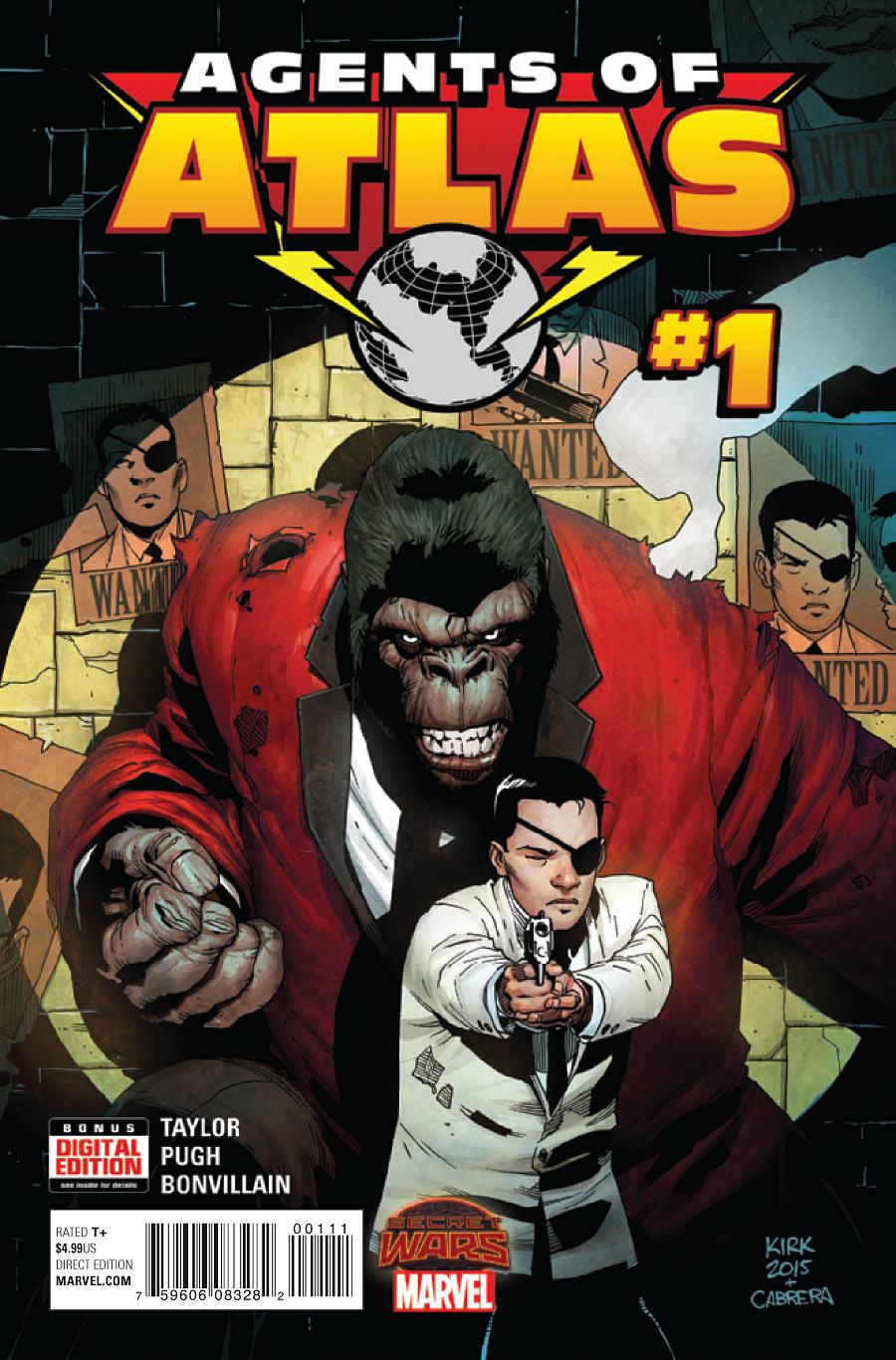Secret Wars: Agents of Atlas Vol 1 1