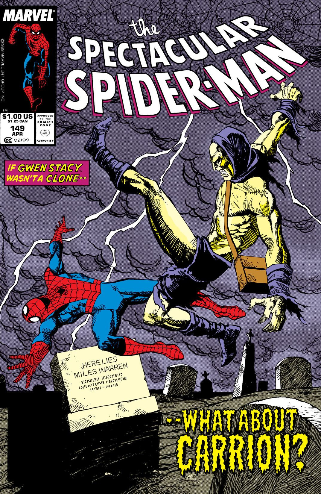 Spectacular Spider-Man Vol 1 149