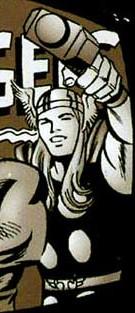 Thor Odinson (Earth-7642) from Incredible Hulk vs. Superman Vol 1 1 001.jpg