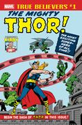 True Believers Kirby 100th - Introducing... the Mighty Thor! Vol 1 1