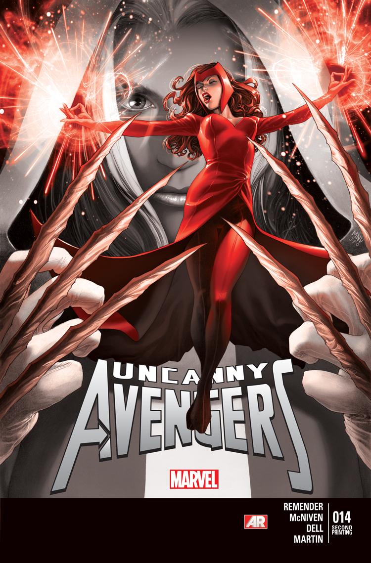 Uncanny Avengers Vol 1 14 Second Printing Variant.jpg
