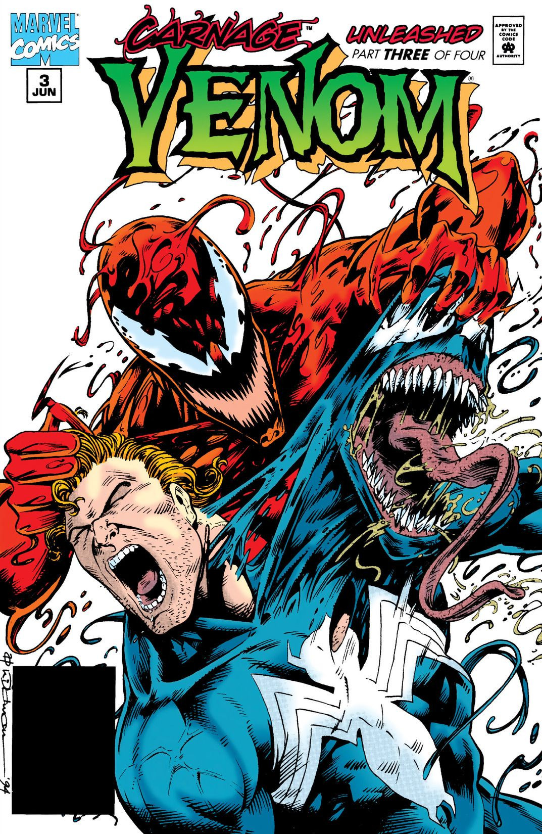 Venom: Carnage Unleashed Vol 1 3