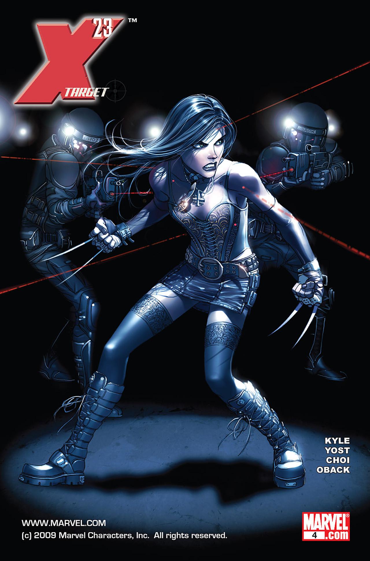 X-23: Target X Vol 1 4