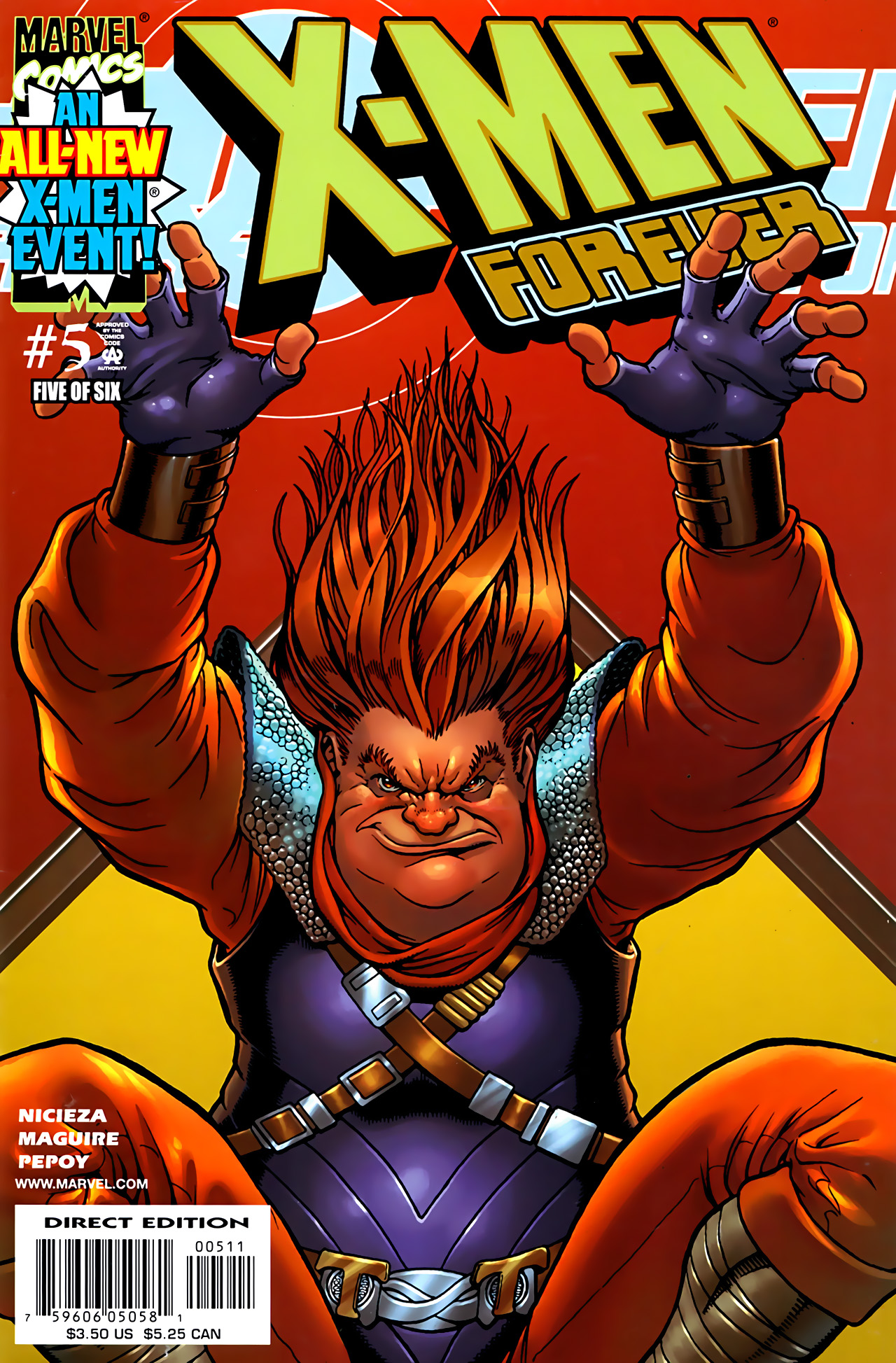 X-Men Forever Vol 1 5