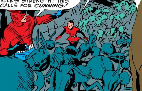Ant-Man's Ants