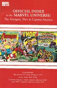 Avengers, Thor & Captain America Official Index to the Marvel Universe Vol 1 4