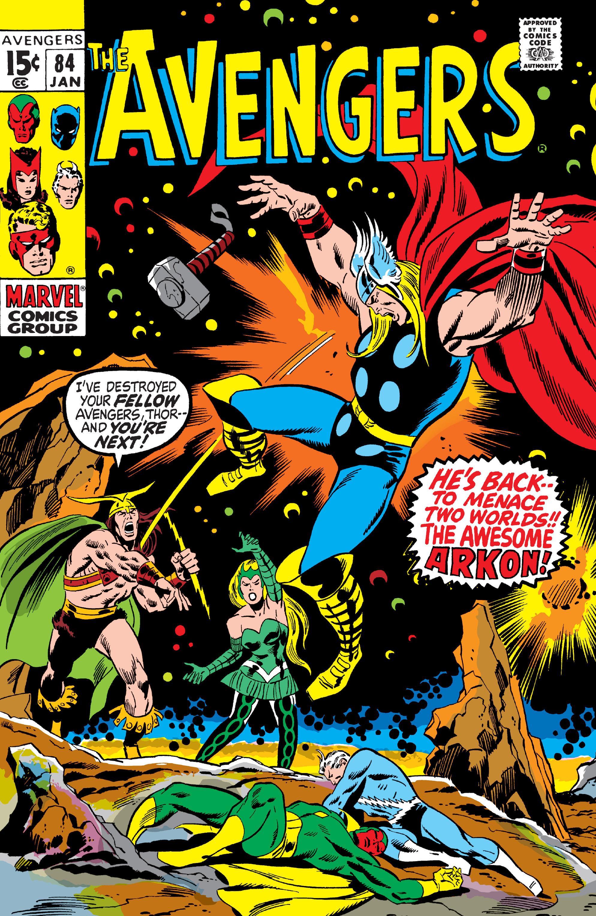 Avengers Vol 1 84