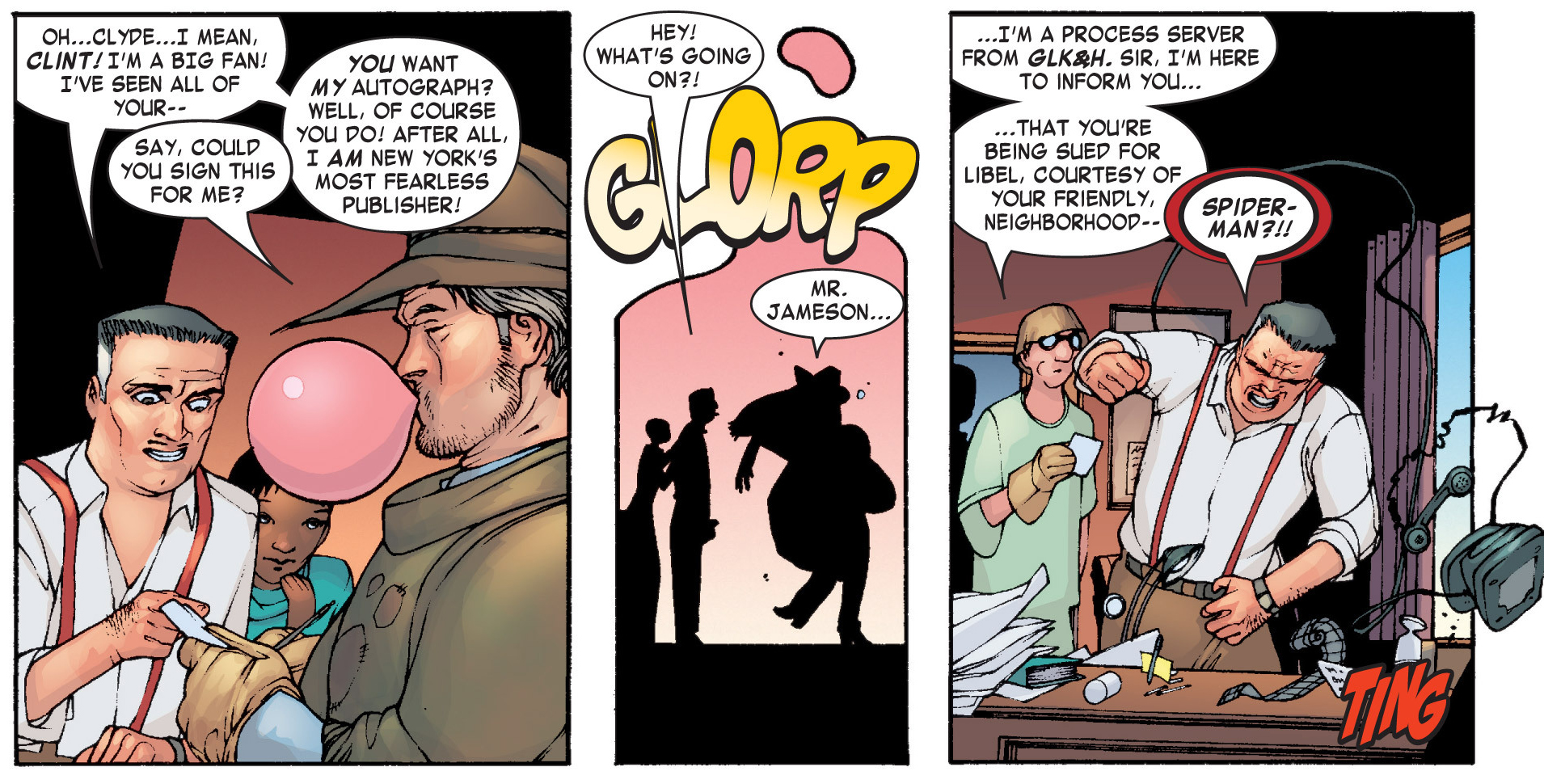 Ditto (Earth-616) and John Jonah Jameson (Earth-616) from She-Hulk Vol 1 4 001.jpg