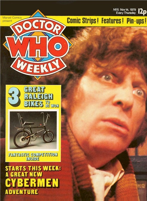 Doctor Who Weekly Vol 1 5