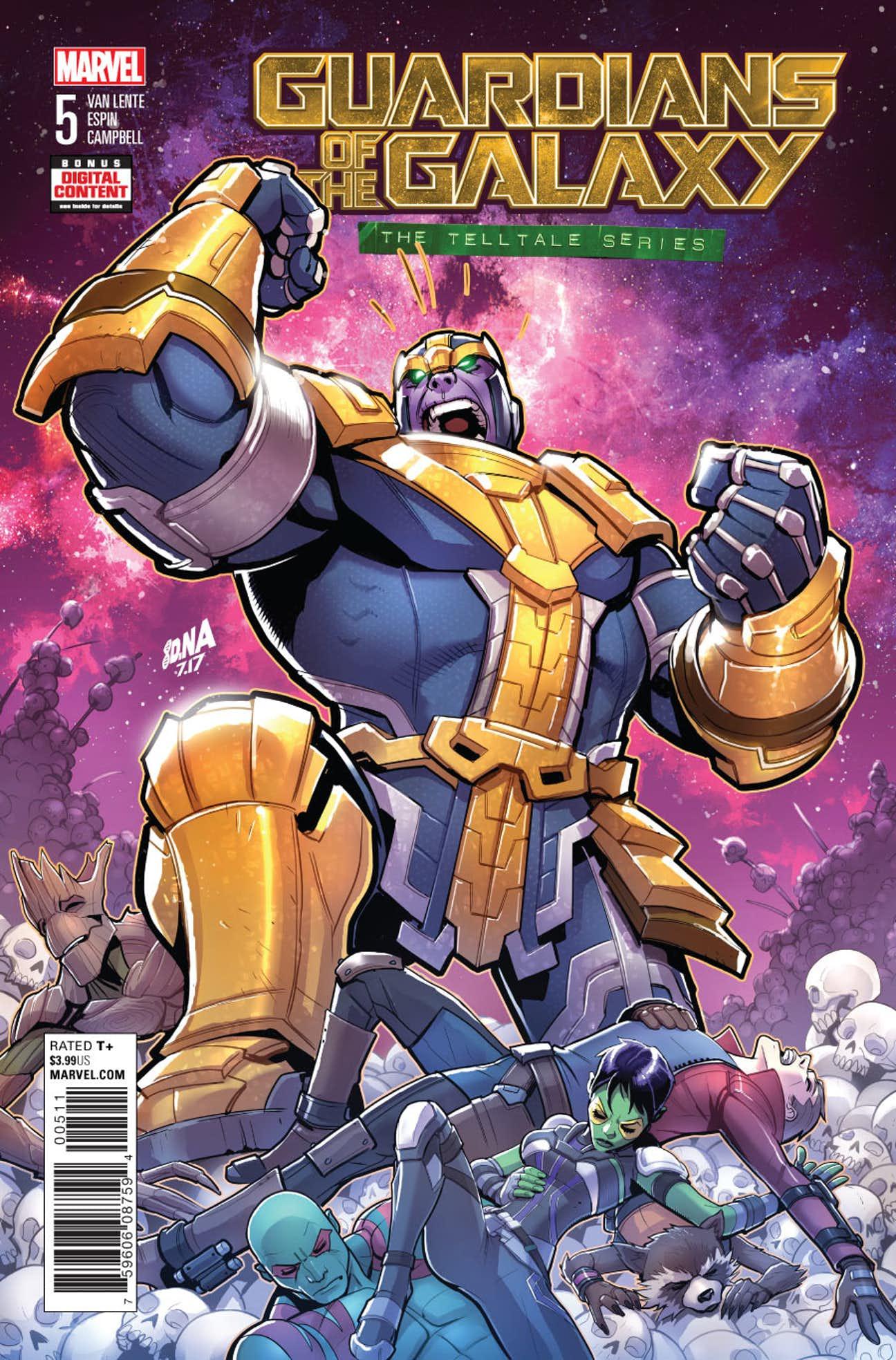 Guardians of the Galaxy: Telltale Games Vol 1 5