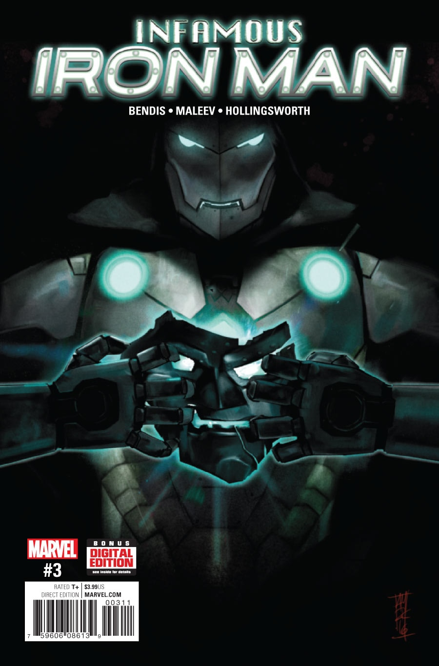 Infamous Iron Man Vol 1 3