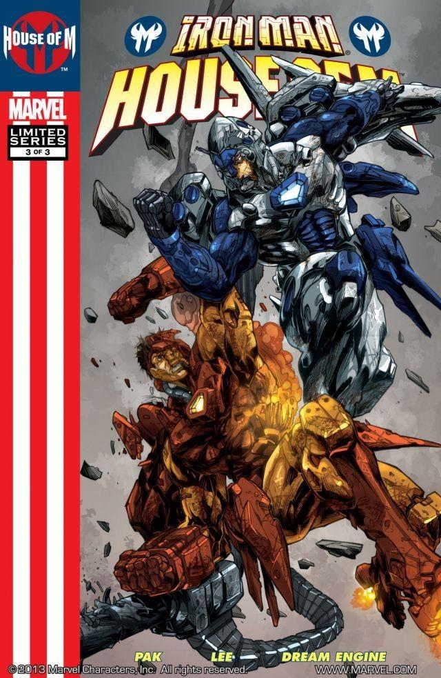 Iron Man: House of M Vol 1 3