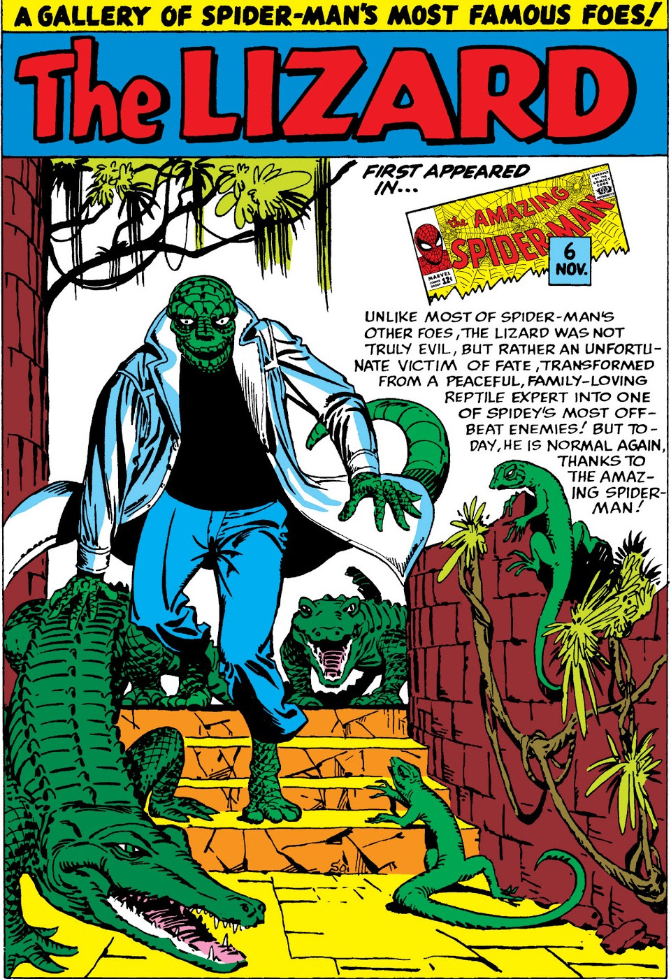 Lizard Pin-Up from Amazing Spider-Man Annual Vol 1 1.jpg