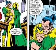 Loki Laufeyson (Earth-616) and Sigyn (Earth-616) from Thor Vol 1 313
